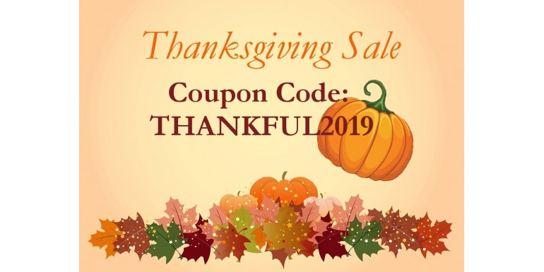 Thanksgiving Sales 2019