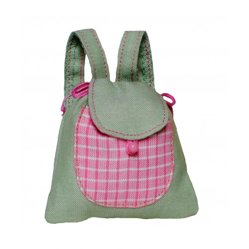 Pastellgrüner Rucksack Größe M