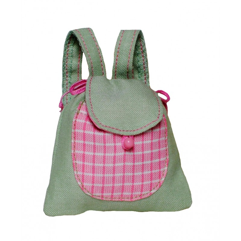 Pastel green backpack size M