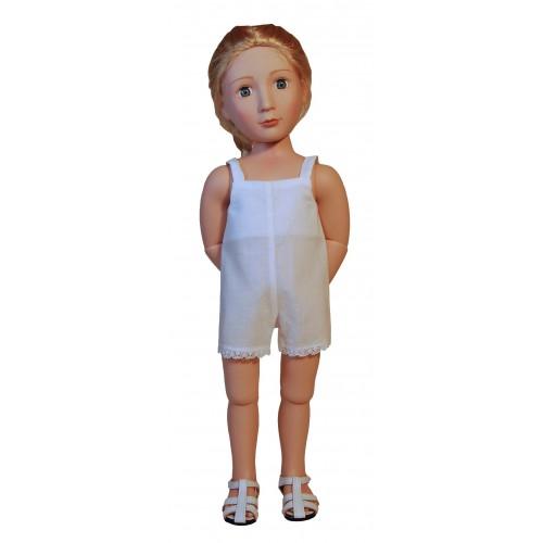 Einteilige kurze Hemdhose 40cm