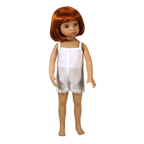 Einteilige kurze Hemdhose 33cm