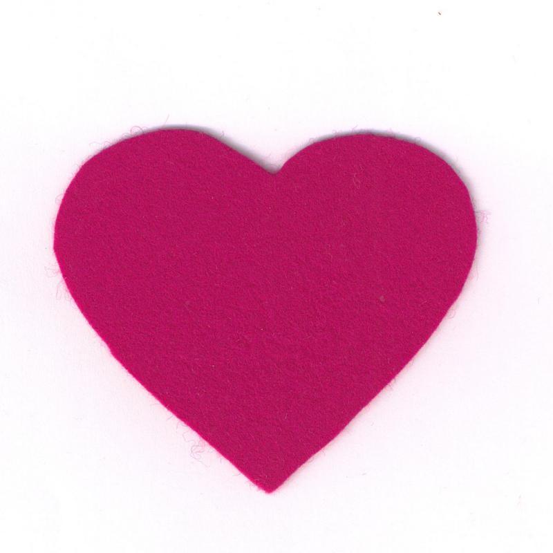 Felt Heart XL