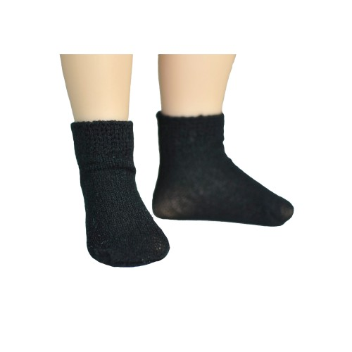 Black seamless socks
