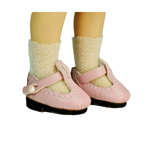 Offwhite nylon doll socks 28-33mm