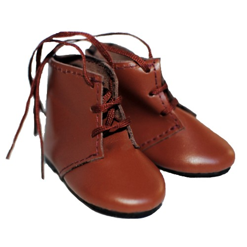 Short laced doll boots 65AA