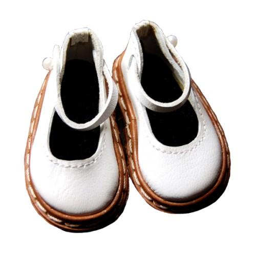 Mary Jane Schuhe Lederrand 53N
