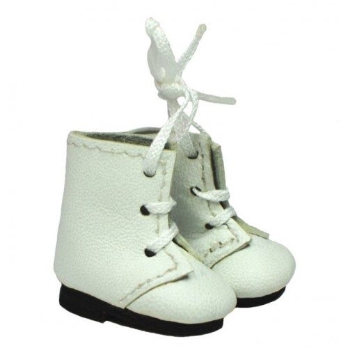 Laced doll boots