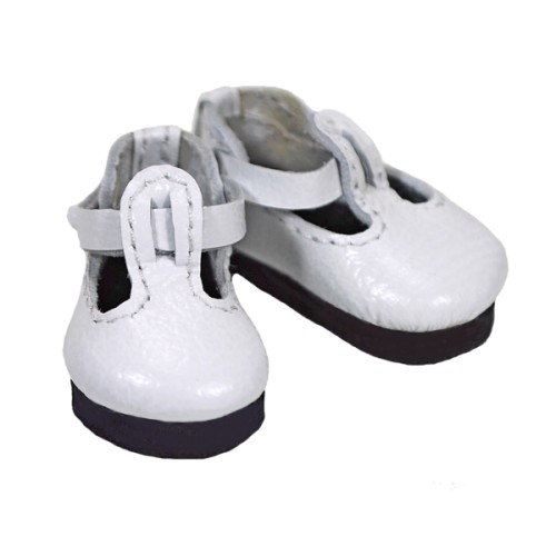 Doll t-strap shoe with rubber sole