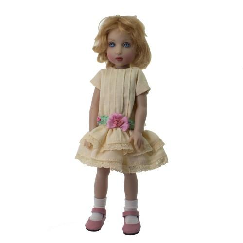 Kleid im Vintage Stil 23cm