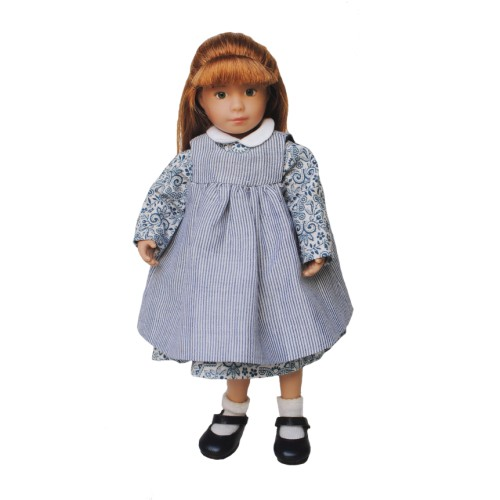 Dress with Pinafore 20cm