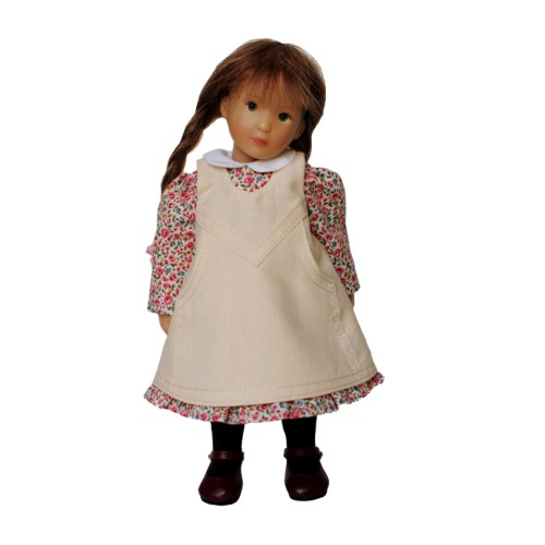 Kleid mit Spielschürze 20cm