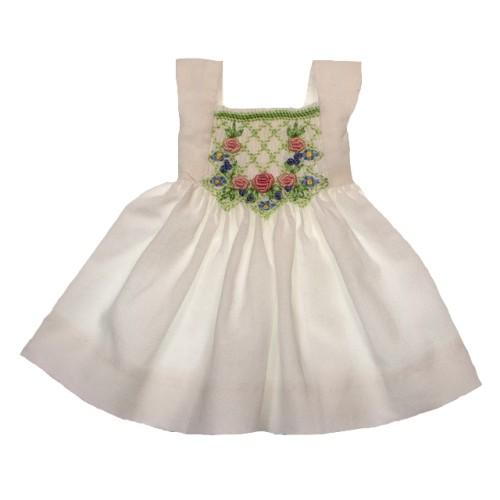 Zart gesmoktes Sommerkleid 24cm