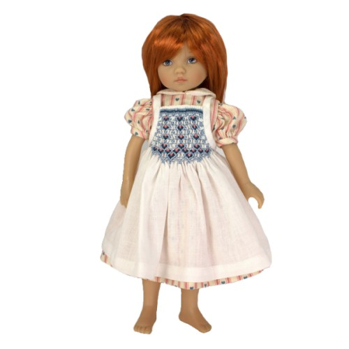 Kleid mit Smockschürze 24cm