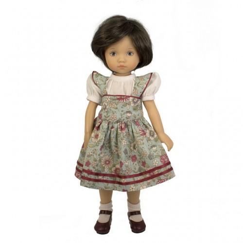 Kleid mit Bluse 24cm