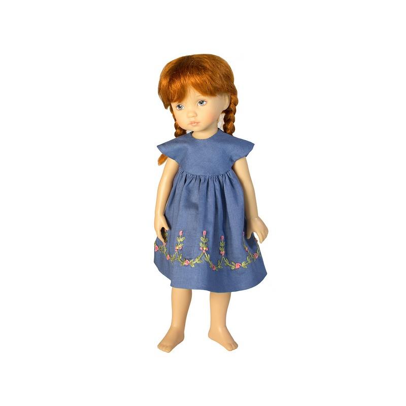 Embroidered Summer Dress 24cm