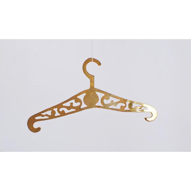 4 brass hanger 2.75 inch