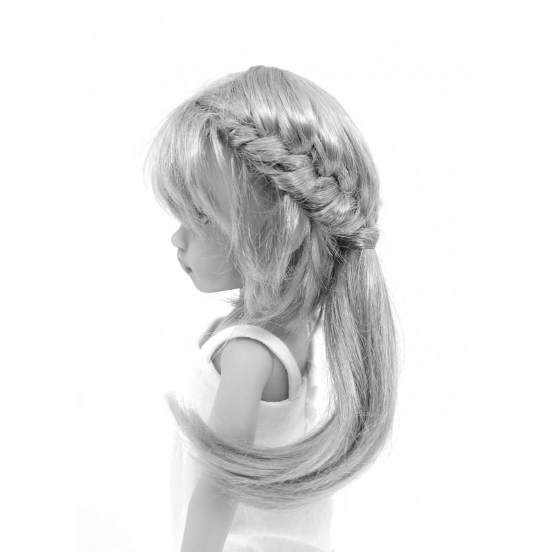 Braided hairdo with Ponytail 5-6