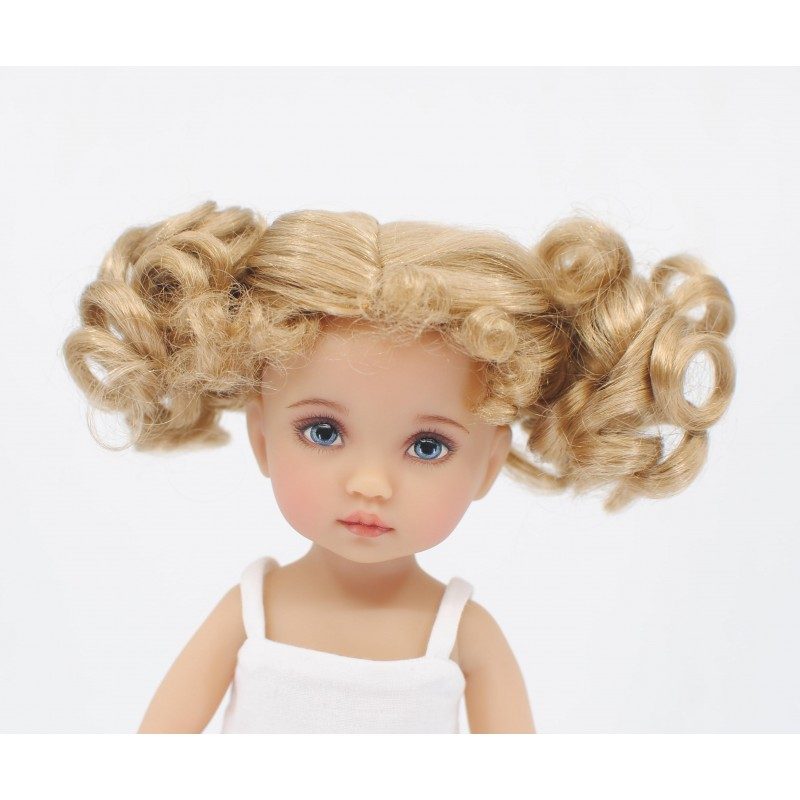 Wig 2 curled pigtails 5-6