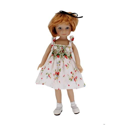 Smocked summer dress 20cm