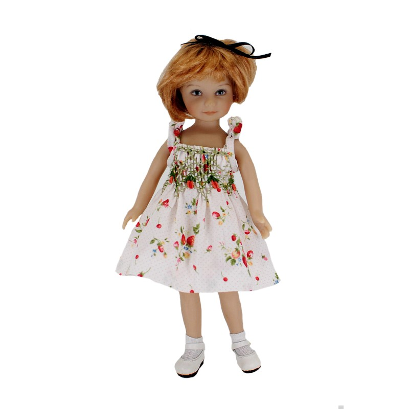 Smocked summer dress 20cm