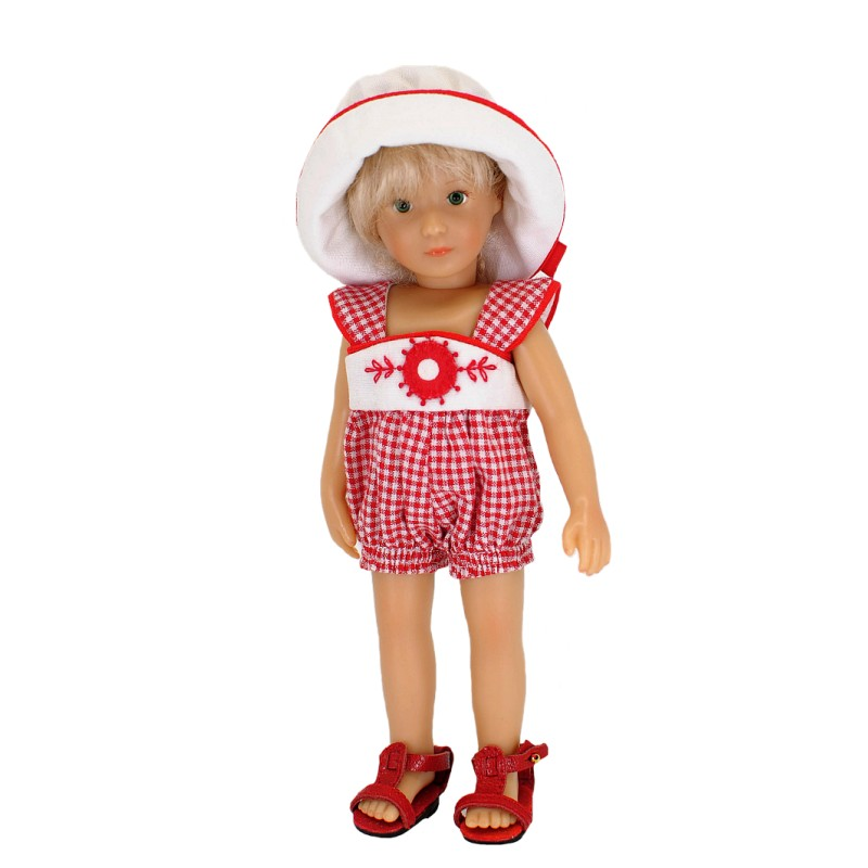 Playsuit with hat 20cm