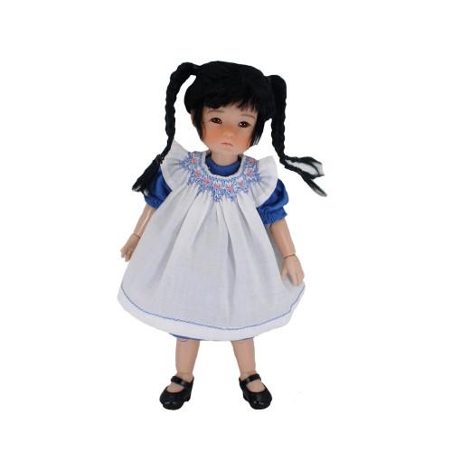 Kleid mit Smokschürze 20cm