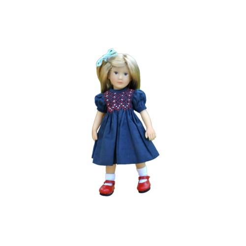 Blue Smock Dress 20 cm