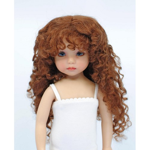 Genuine Mohair Wig Long Curls 7-8