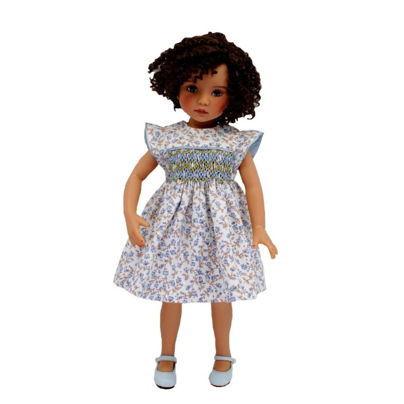 floral smock dress 33cm