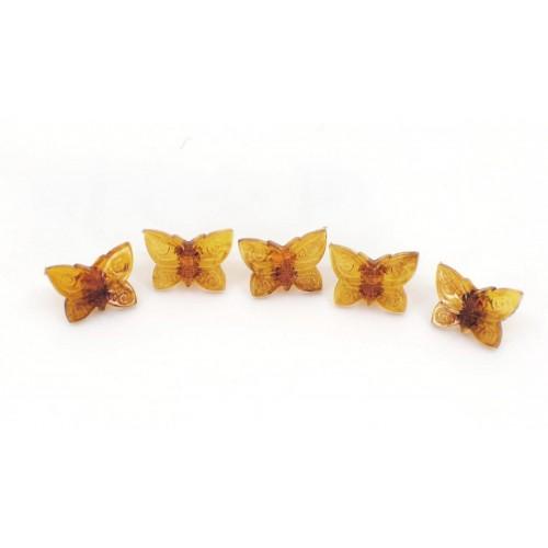Knöpfe Schmetterlinge 12mm