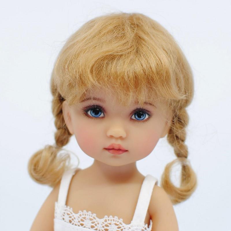 Doll wig short braids 5-6