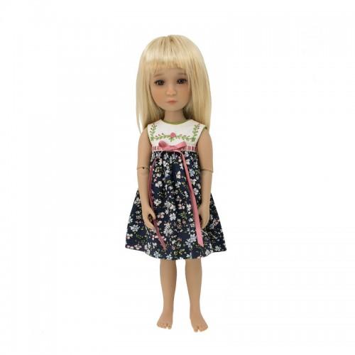 Besticktes Sommerkleid  36cm