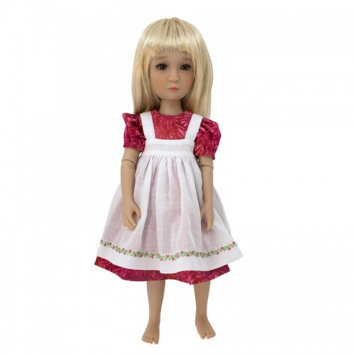 Kleid mit Schürze 36cm