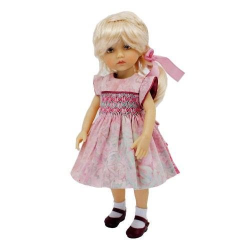 Pink Batik smock dress 24cm