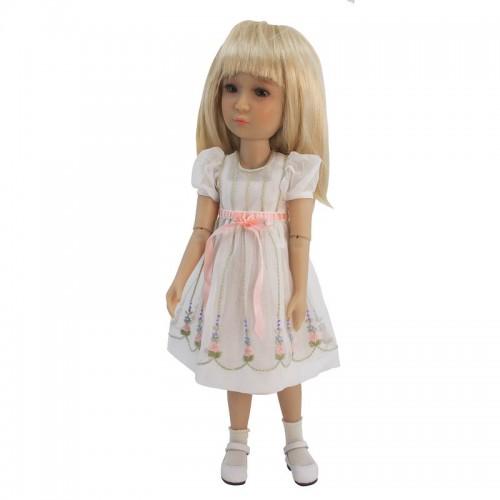 Organzakleid mit Petticoat 36cm