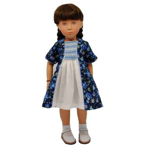 Kleid mit Smokeinsatz 40 cm
