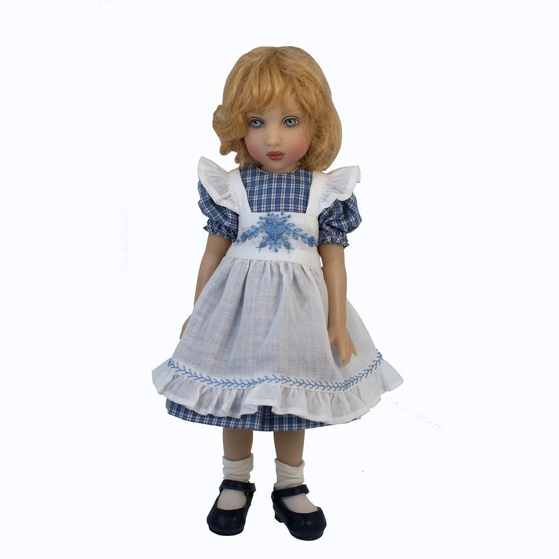 Dress with Pinafore 23cm