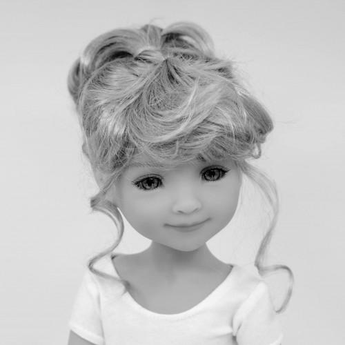 Doll Wig pony tail 8-9
