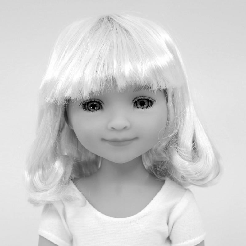 Wig medium long 8-9