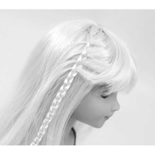 Long hair wig with small braids 8-9