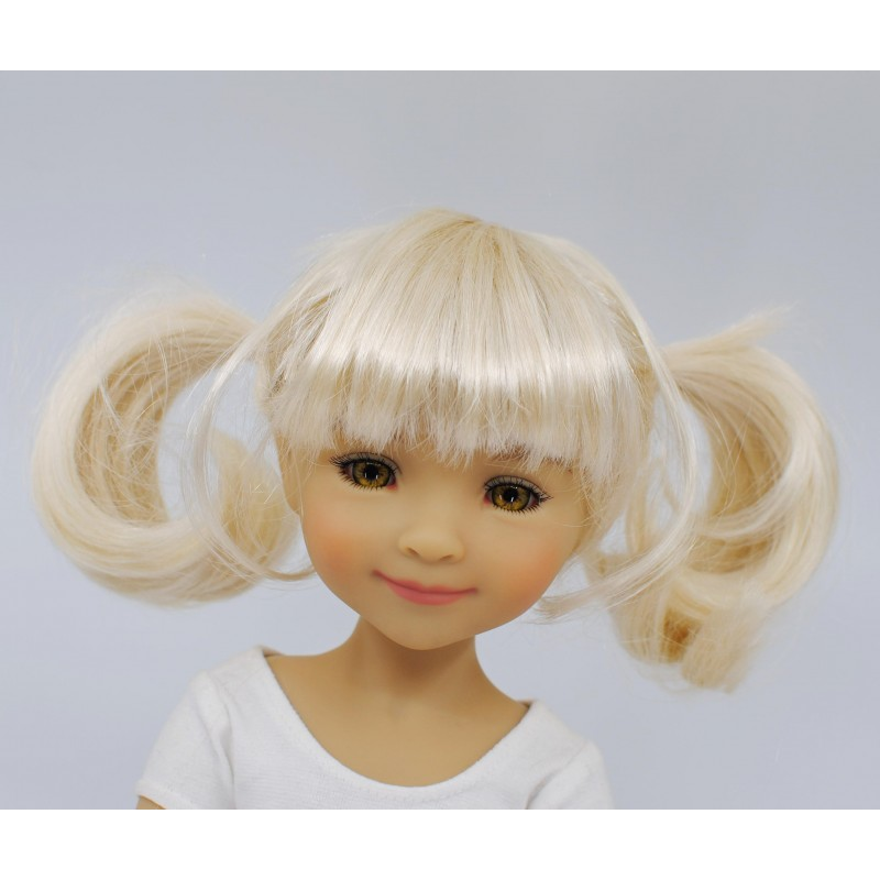 Wig with 2 pig tails  II 8-9