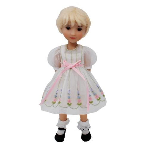 Organzakleid mit Petticoat 28cm