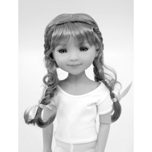 Wig with two braids 8-9