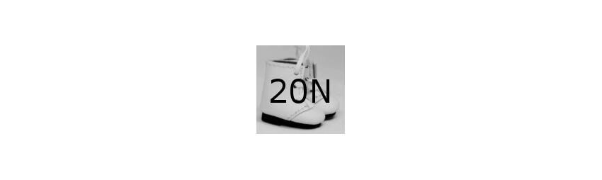 20mm x 11mm breit - 020N