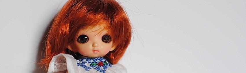 9 cm Puppen