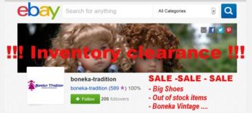 Lagerräumung auf ebay